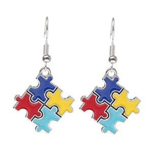 New Autism awareness earrings